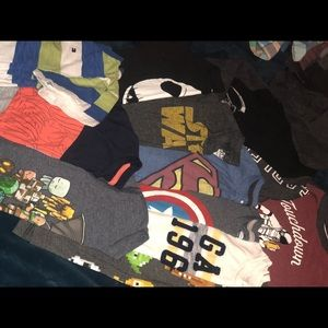 Lot of boys size 6-7 old navy t-shirts*11 total*